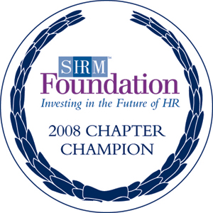 2008 SHRM Foundation Chapter Champion