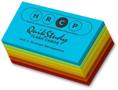 human resources certification flashcards