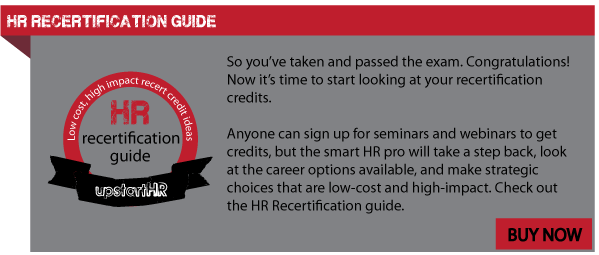 HR Recertification Credits