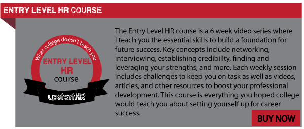 Entry Level HR Course