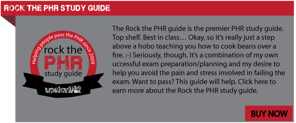Rock the PHR Study Guide