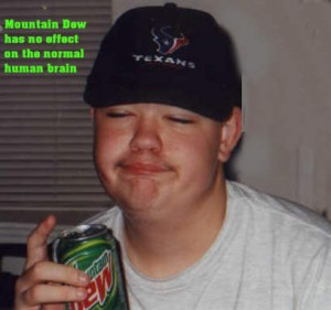 mountain dew your brain
