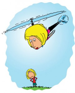 helicopter parents at work