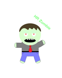 HR zombie