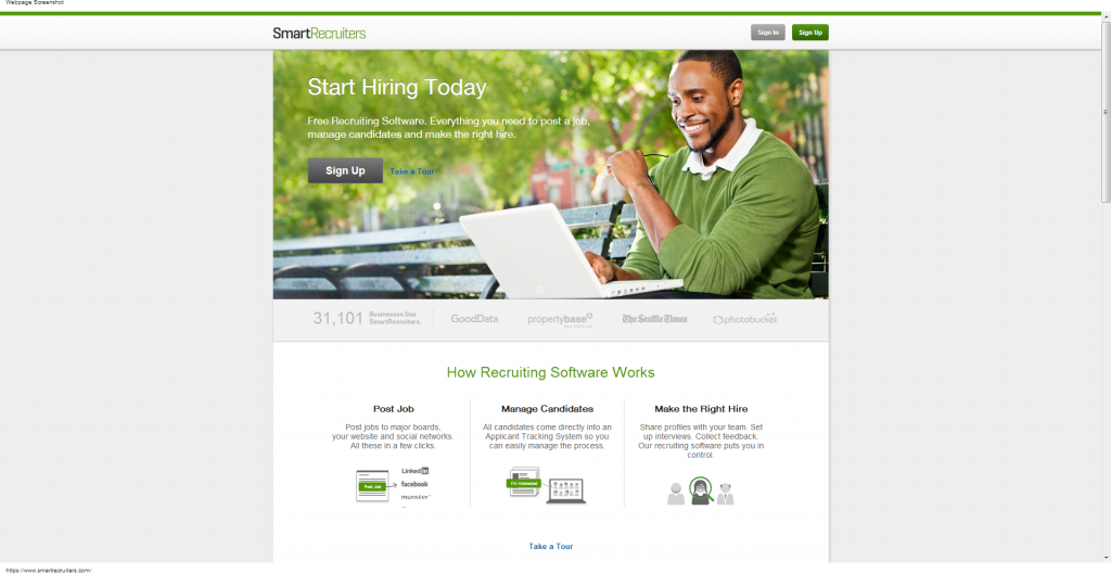 SmartRecruiters   Recruiting Software   Applicant Tracking System-083623