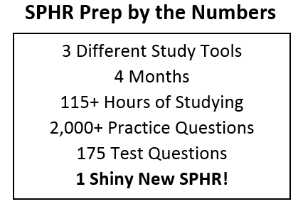 passing the sphr exam