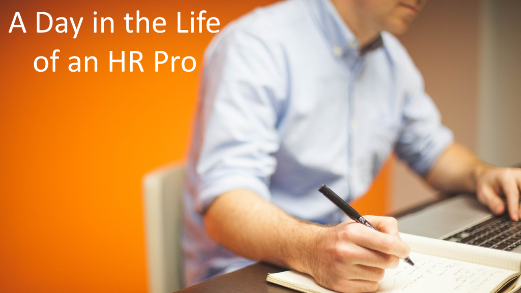 day in the life hr professional