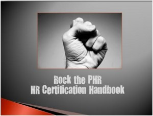 Rock the PHR