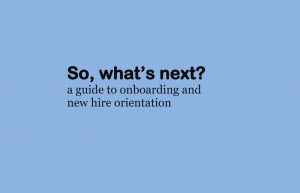 new hire orientation free ebook