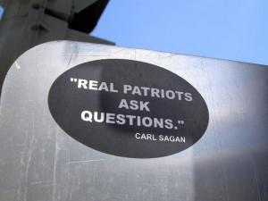 real patriots ask questions carl sagan