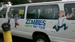 bourbon chase 2012 van decorations