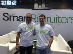 Hanging out with Jerome, CEO of SmartRecruiters