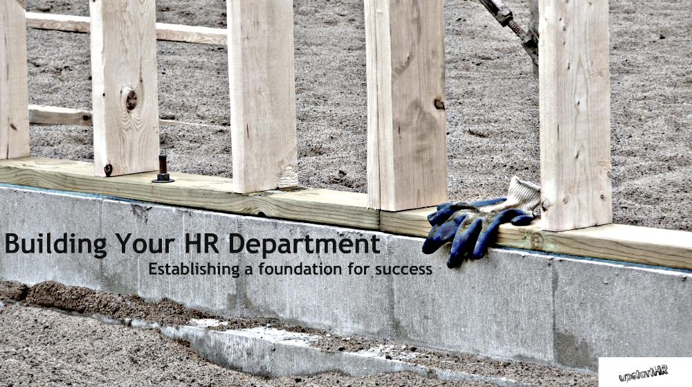 building an hr department ebook cover