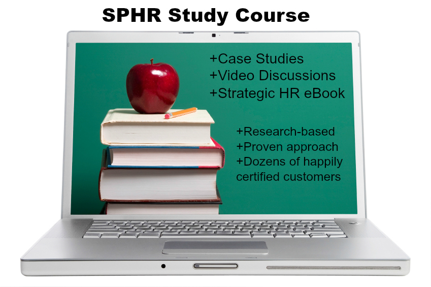 how to study for the sphr exam