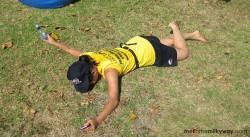 running tiring