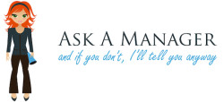 ask a manager logo