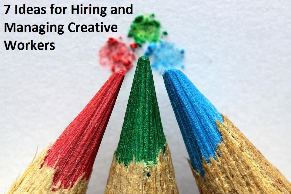 hiring and managing creatives
