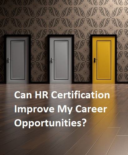 hr certification career options
