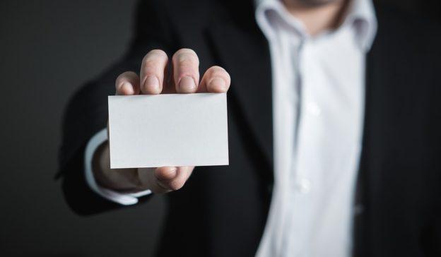 business card job title
