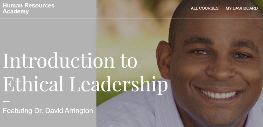 ethical leadership course