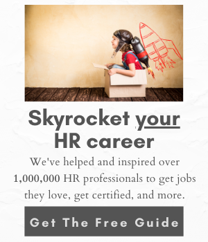skyrocket your HR career